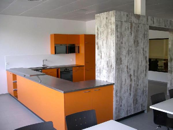 Orange Küche T